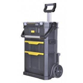 "Carrello Porta Utensili ""2 in 1"" Stanley     Rolling Workshop 56x38x76cm STST1-79231"