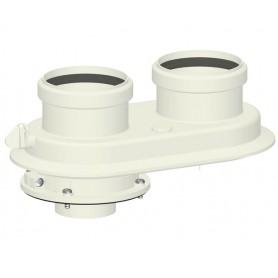 Sdoppiatore Coassiale ø60/100 per Caldaie a condensazione
