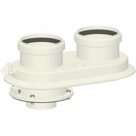 Sdoppiatore ø60/100 per Caldaie a Condensazione