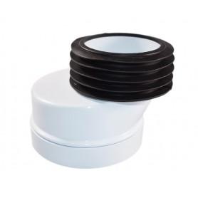 Manicotto Eccentrico per Scarico Wc ø90/100/ 110 Spostamento 4cm