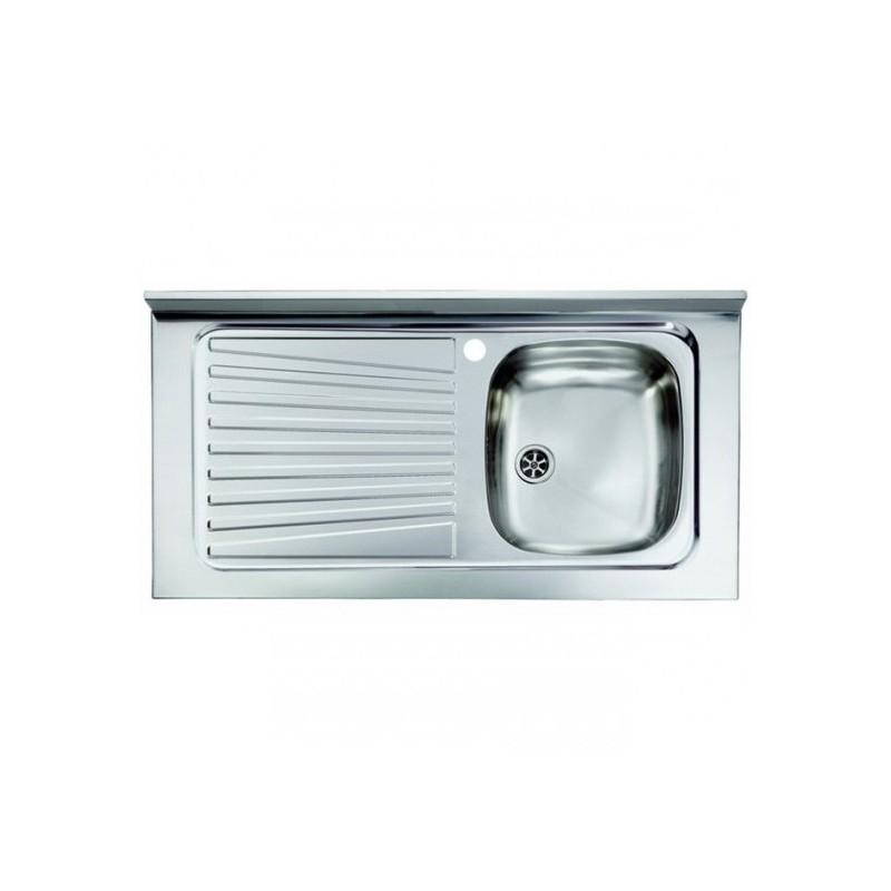 Lavello Acciaio Inox da Appoggio cm100x50    ART.031035DNLXX