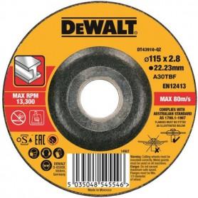 Disco Abrasivo per Smerigliatrici per Taglio su Metallo ø115mm De Walt