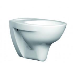 Vaso Singolo Sospeso Habitat Serie Beta in   Ceramica Bianco