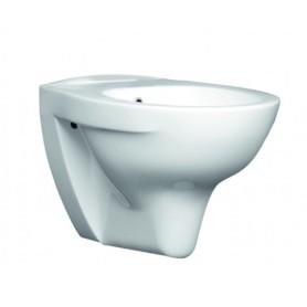 Bidet Singolo Sospeso Habitat Serie Beta in  Ceramica Bianco