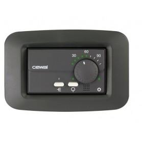 Centralina Elettronica da Incasso Cewal per Controllo Termocamini