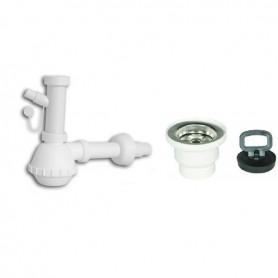 Sifone in Pp una Via per Lavello Ceramica    ART.S510910