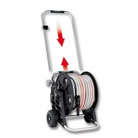 Carrello Avvolgitubo per Irrigazione Fuori   serra Modello Genius Compact Pronto 25 Claber